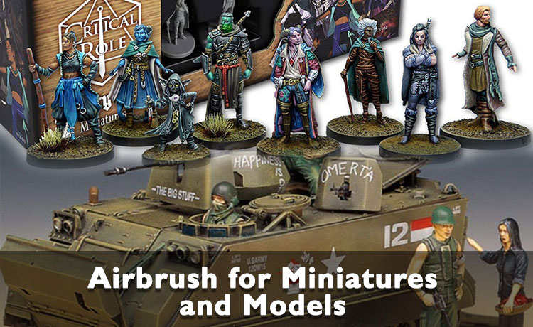 Best Airbrush for Miniatures and Models