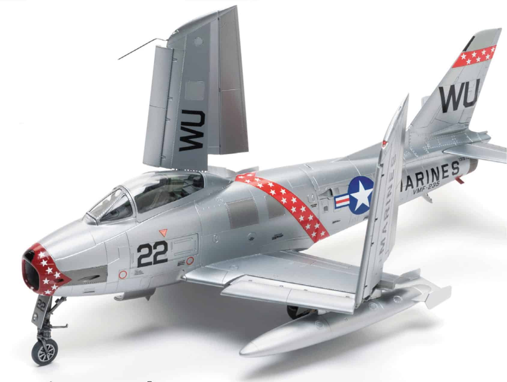Kitty Hawk FJ-2 Fury 1/48 Model Kit