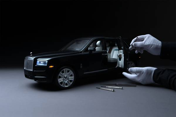 Unmatched workmanship; Rolls-Royce Cullinan 1:8 Model Car 1