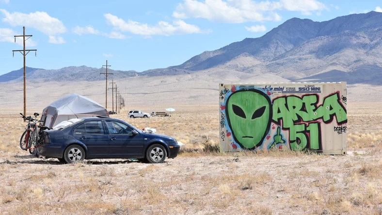 AREA 51 on Google Maps