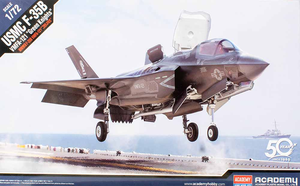 Academy USMC F-35B First Look