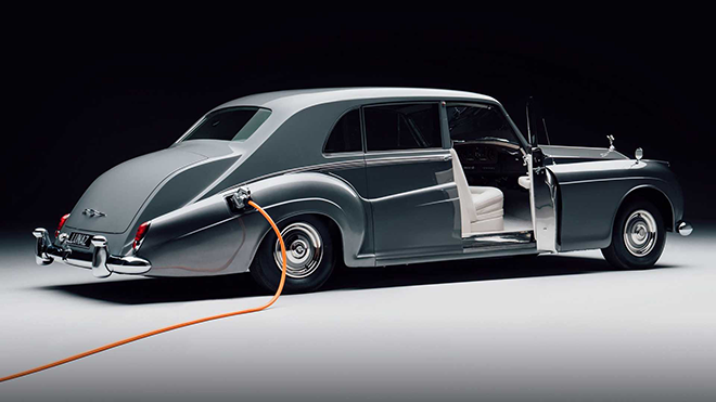 All-electric 1961 Rolls-Royce Phantom-1