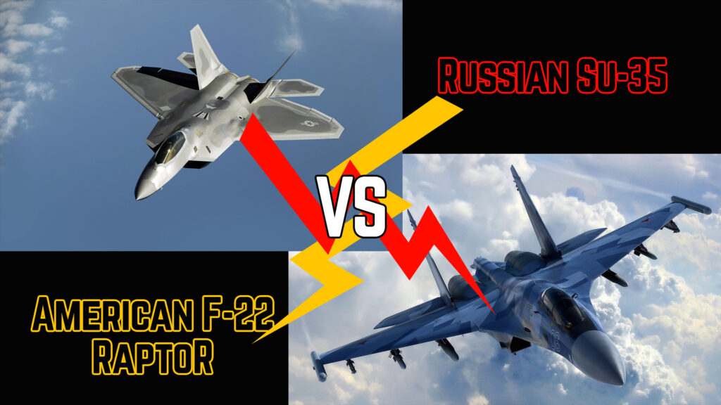 Fighters Clash: Who Will Win if Russian Su-35 vs American F-22 Raptor