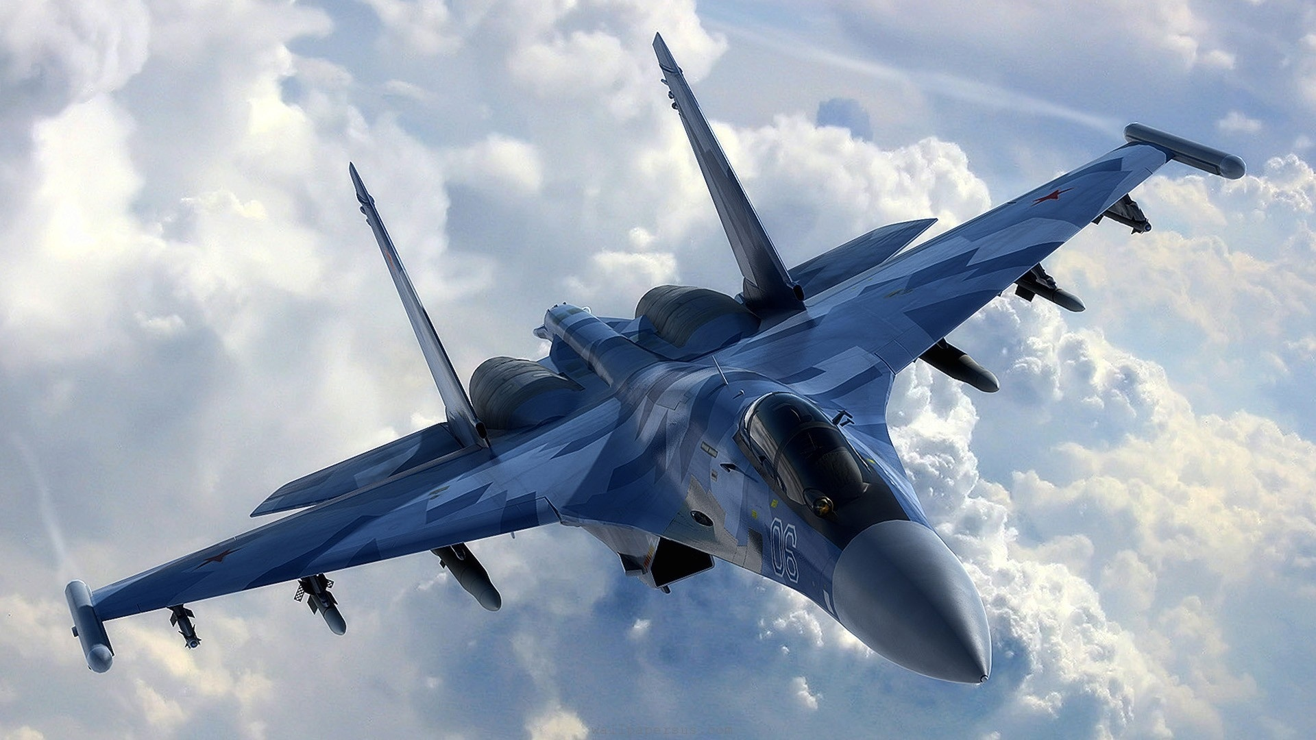 Russian Su-35 vs American F-22 Raptor