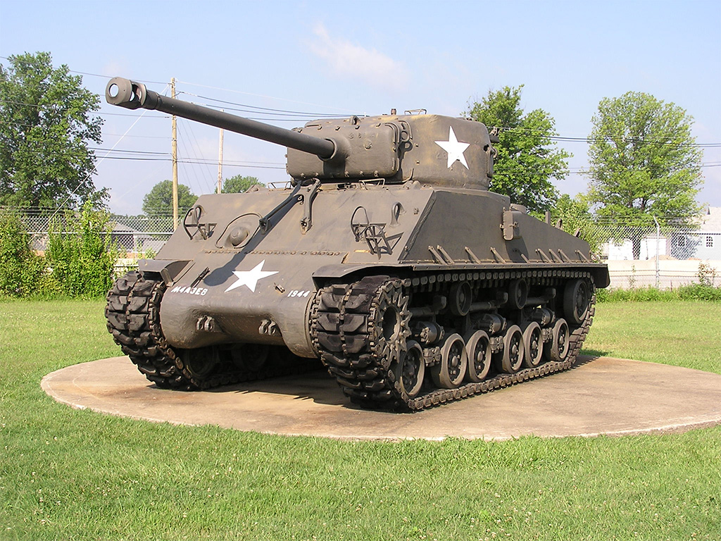 american tanks ww2