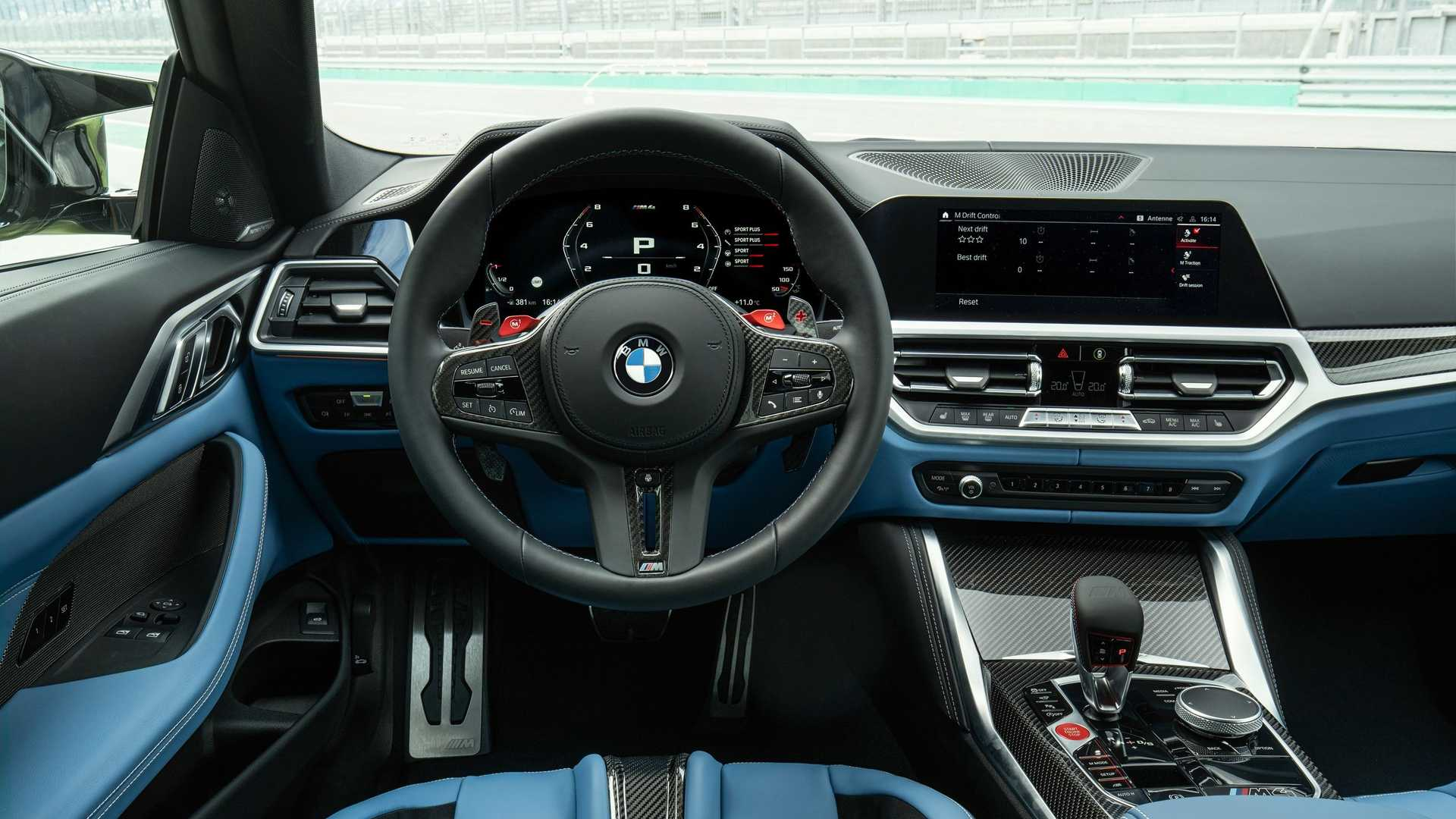 6th-Gen BMW M3 and M4 Introduced with Exaggerated Grille-5