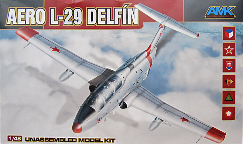 Aero L-29 Delfín AMK 1:48 Review