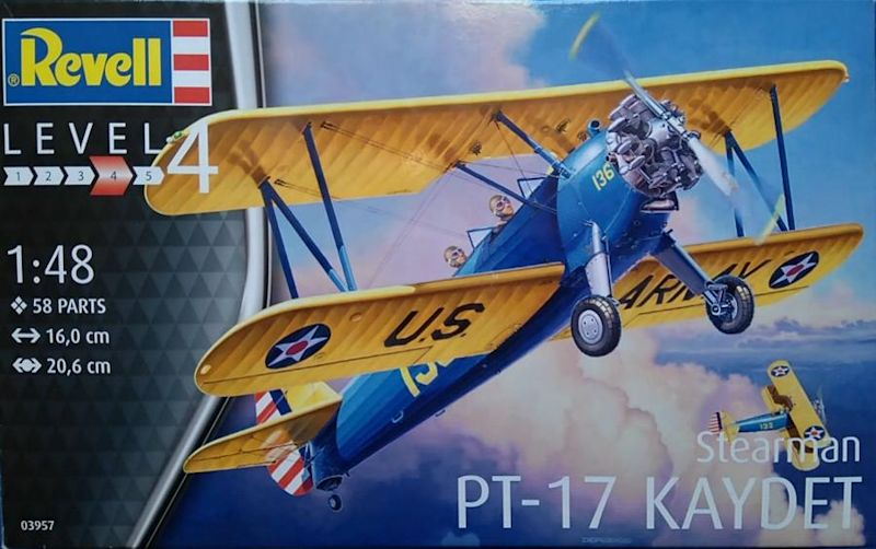 Revell Stearman PT-17 KAYDET 148 Review_01