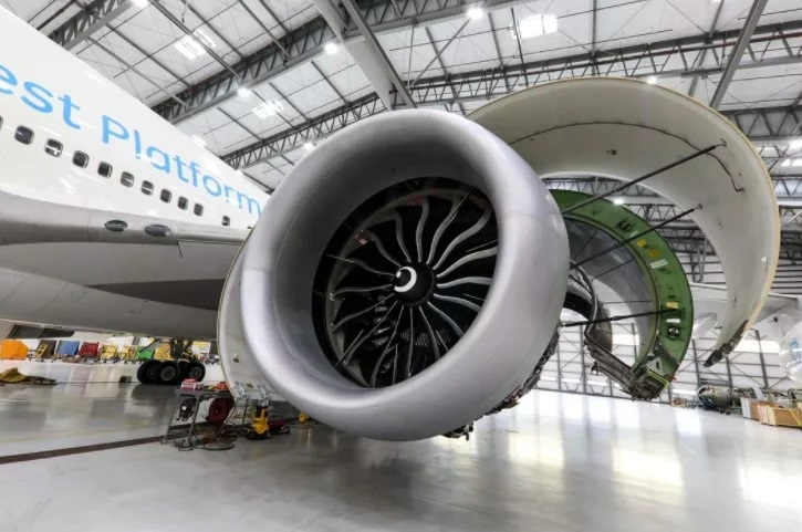 The World's Largest Commercial Jet Engine GE9X, Alone as Thick as an Airframe, Receives Official Approval