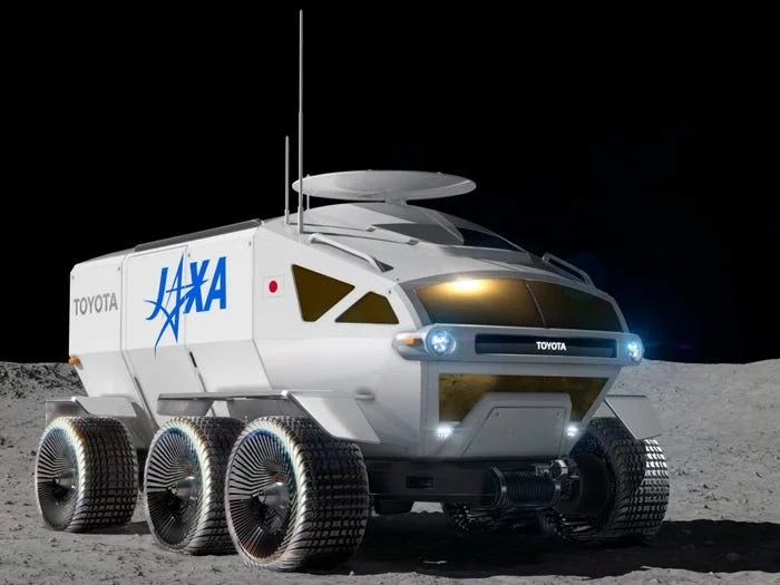 Toyota Develops Lunar Cruiser For Japanese Space Research Agency