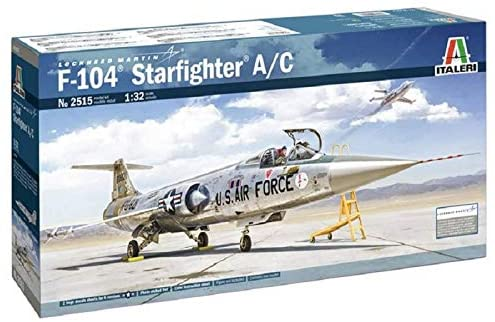 Italeri 1-32 F-104 A/C Starfighter Review