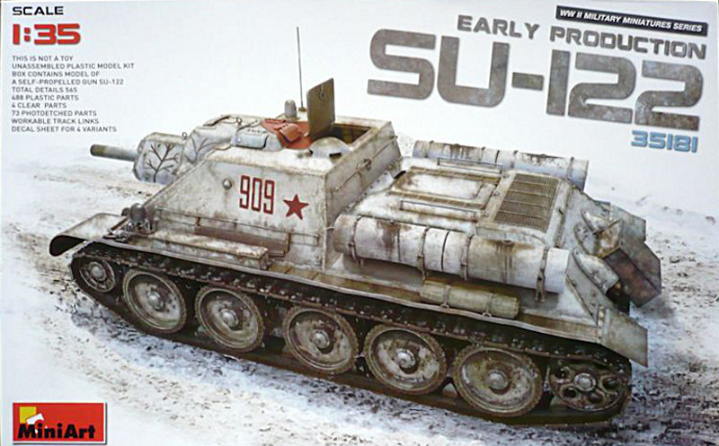 Miniart SU-122 Review