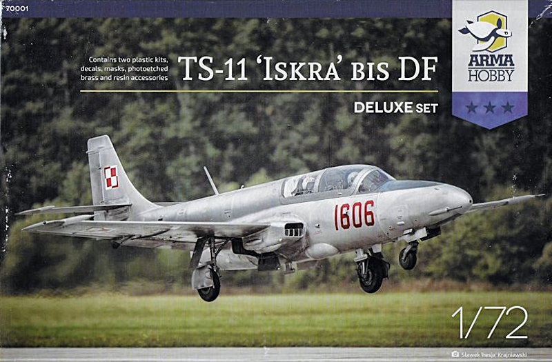 Arma Hobby 1/72 TS-11 Iskra Deluxe Set Review