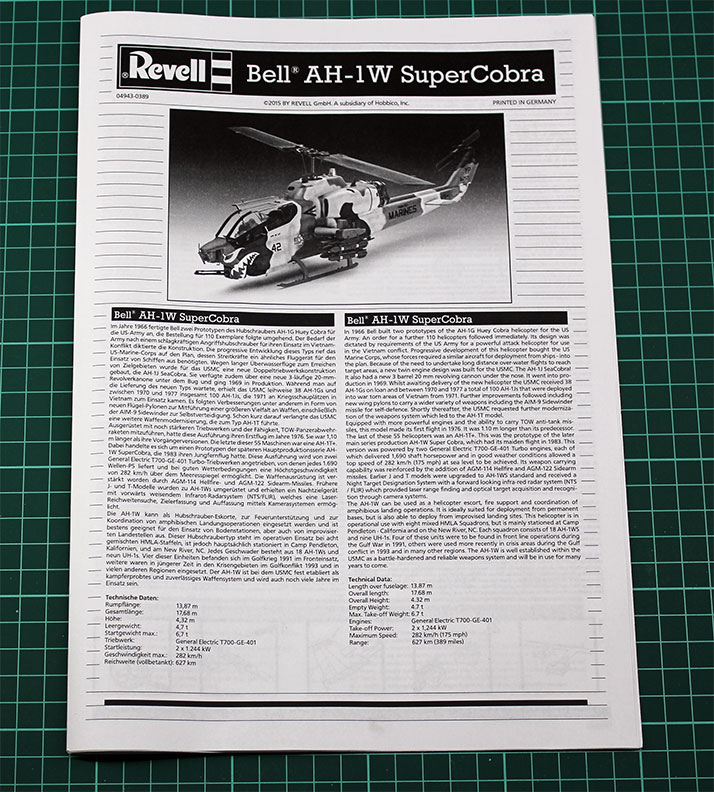 Revell-Bell-AH-1W-Super-Cobra-1-48-Review-8