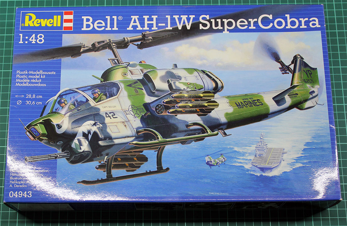 Revell Bell AH-1W Super Cobra-1-48-Review