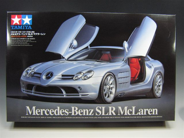 Tamiya Mercedes-Benz SLR McLaren Review