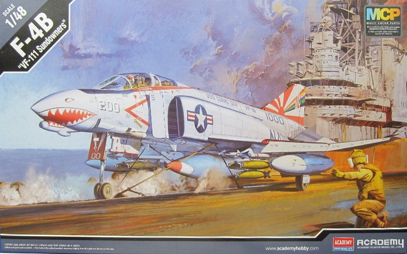 McDonnell F-4B Phantom II VF-111 Sundowners Cover